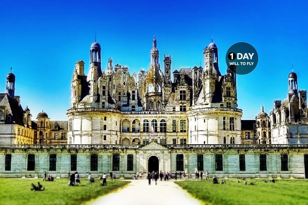 1 Day to the Chambord Castle