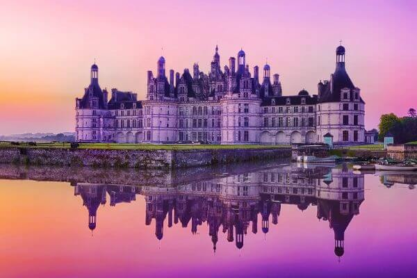 Chambord Sunset