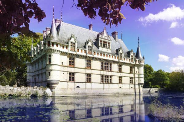AZAY LE RIDEAU - Loire, France