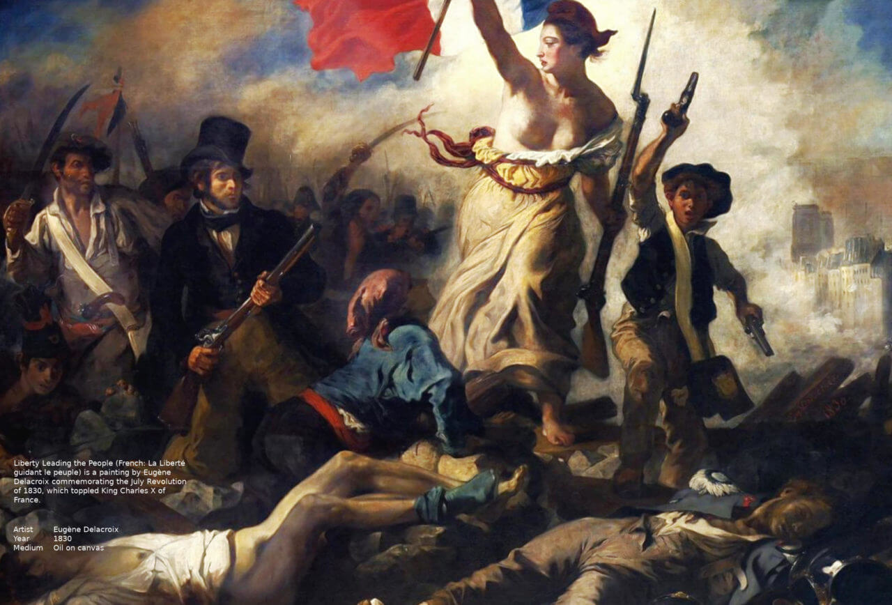 Liberty Leading the People Louvre